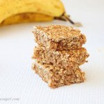Banana Oats Bars