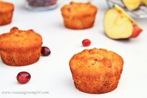 Cranberry Apple Muffins | roxanashomebaking.com