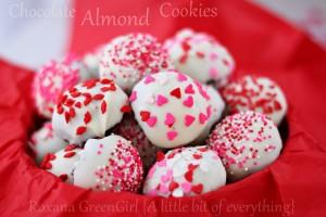 Chocolate Almond Cookies   roxanashomebaking.com