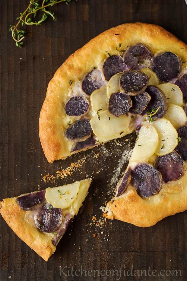 Potato Pizza _ Kitchen Confidante