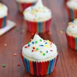 Funfetti yogurt cupcakes with Buttercream frosting