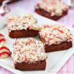 Candy Cane Kisses Chocolate Sponge Cake