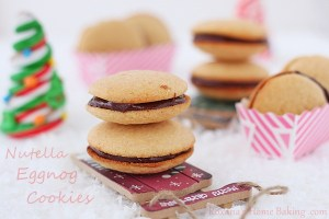 Nutella Eggnog Cookies roxanashomebaking 3