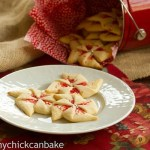 Poinsettia Cookies #25recipestoXmas