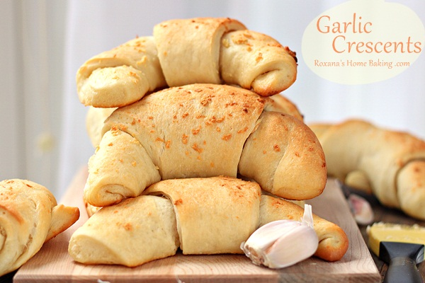 Buttery Garlic Crescents