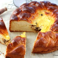 Romanian Easter bread - Pasca