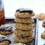 Hazelnut chocolate chip oatmeal cookies