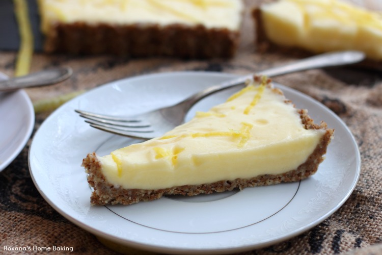 Light lemon curd tart recipe