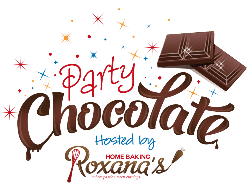 Join the fun! Chocolate party at Roxanashomebaking.com
