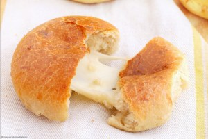 cheese filled three cheese dinner rolls recipe