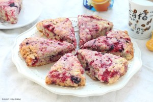 raspberry vanilla scones recipe