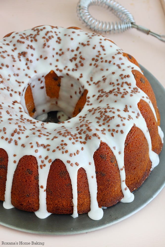 chocolate chip amaretto cake recipe 1