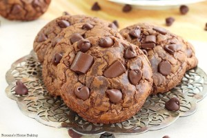 soft chewy chocolate fudge cookies recipe