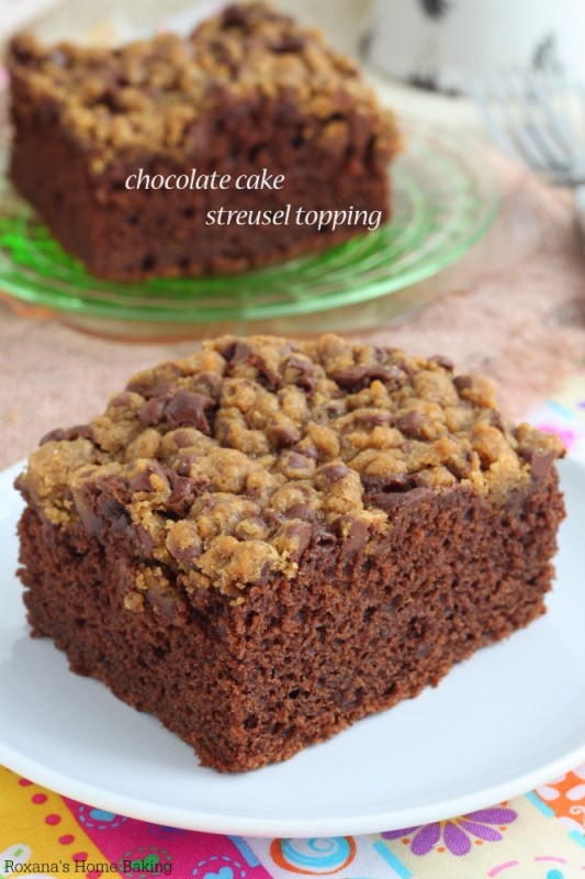 chocolate cake streusel topping recipe 2