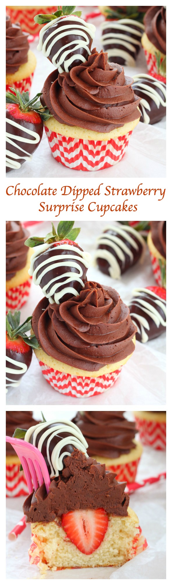 ... these chocolate dipped strawberry surprise cupcakes, you may also like