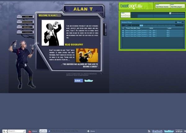 Alan T Website