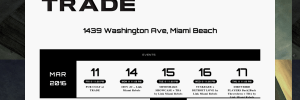 Trade Miami Website