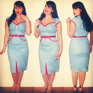 Roxy Vintage Style Lindy Bop Heidi Dress