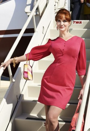 Joan pink minidress