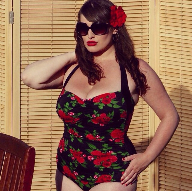 vintage style swimsuit by Hell Bunny