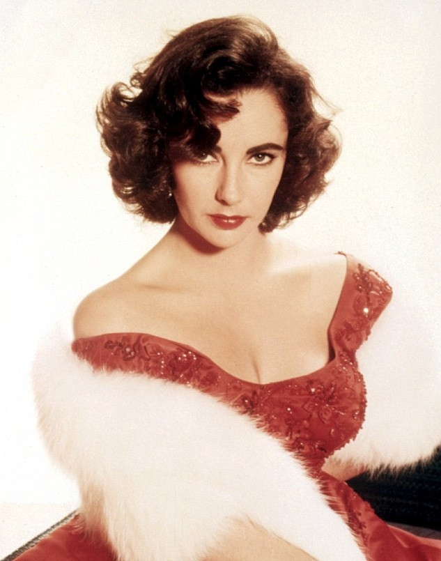 Liz Taylor off shoulder