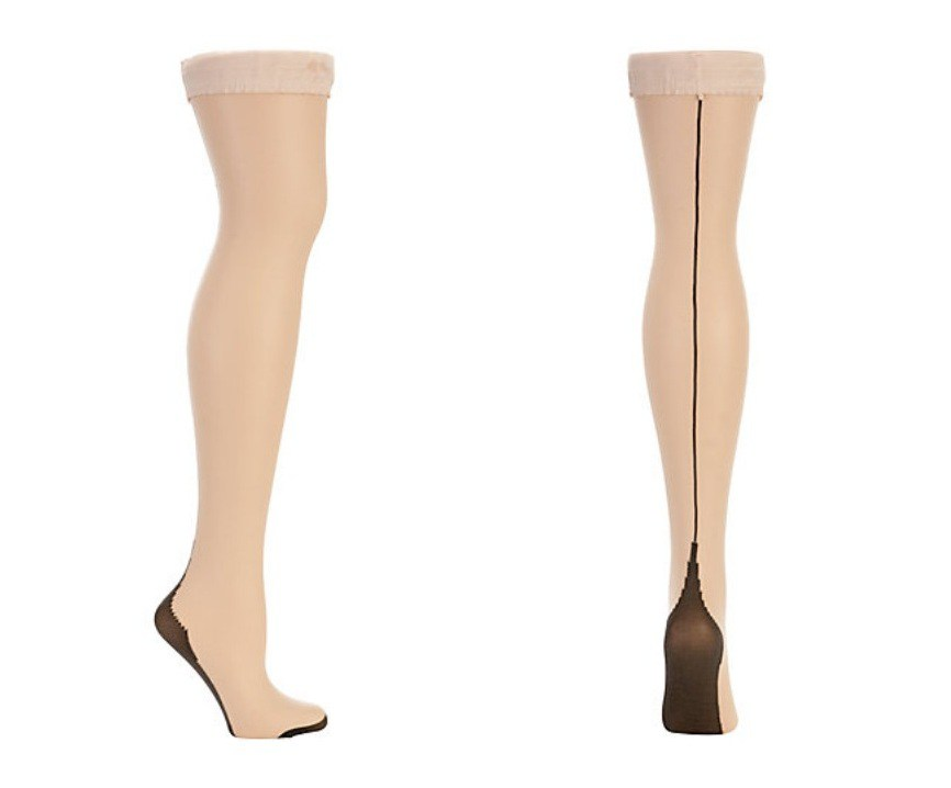 pinup style stockings tights
