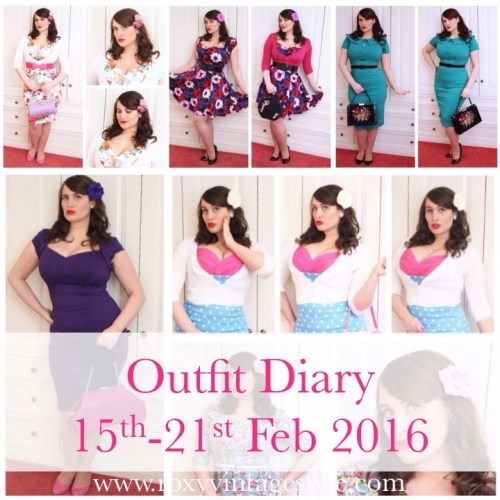 Feb Outfit Diary