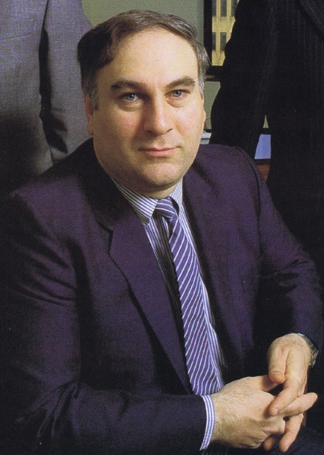 John Donovan, Chairman, Don Marketing 1984. Best known for games supplied to Shell