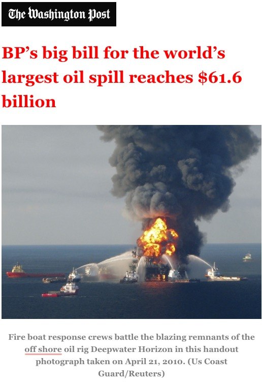 a history of one of the biggest oil spills in us history in 1989 History's 10 most famous oil spills  no one knows how much oil burned and how much spilled into the environment  the deepwater horizon oil spill has become the largest in us history.