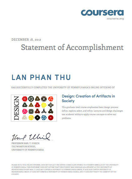 lan cert1 we successfully completed the design course