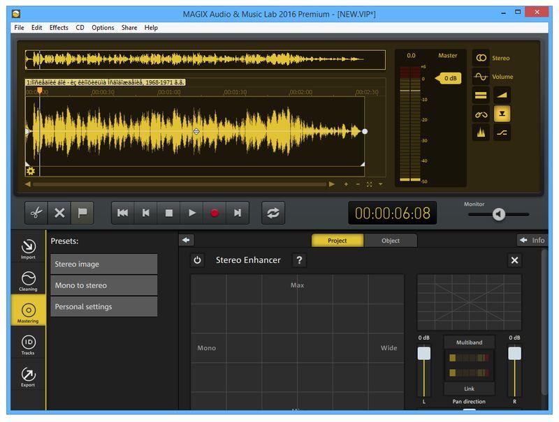 MAGIX Audio & Music Lab