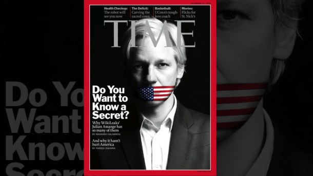 TIME Magazine Cover: Julian Assange