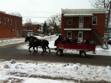 Horse Drawn Wagon - Longueuil