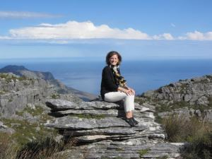 MJ at Table Mountain