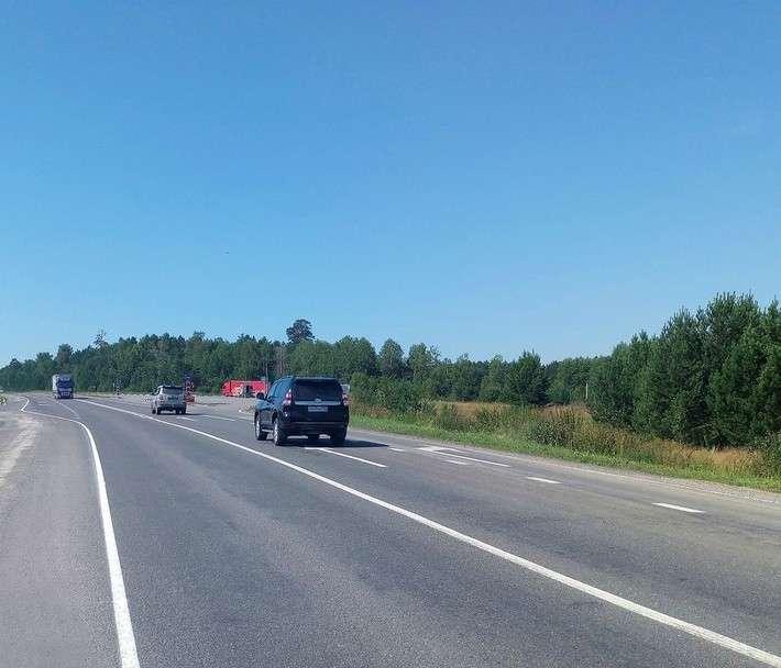 20. Росавтодор отремонтировал 25 километров на федеральной трассе Р-255 «Сибирь» в Красноярском крае политика, сделай сам, факты