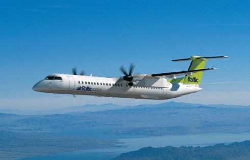 Рейсы из Риги в Гданьск будут осуществлять самолеты Fokker 50