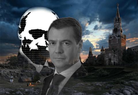Президентские выборы 2012 года -- серьезная опасность для Дмитрия Медведева | Коллаж: © LOTC MEDIA