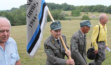 Эстония. Слет ветеранов СС. Фото: РИА Новости