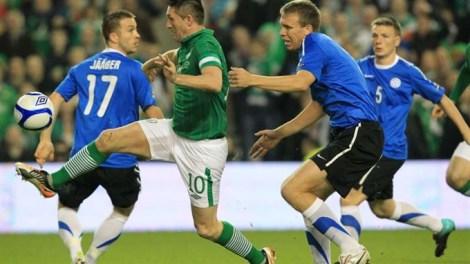 Игра проходила в Дублине на стадионе Aviva. Scanpix