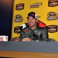 NSCS: Clint Bowyer Given a Flame Thrower to Celebrate New Family Addition