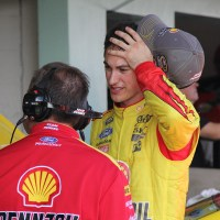 NSCS: Logano's Title Hopes Go Up in Cloud of Brake Dust