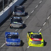 NCWTS: Kroger 200 Halfway Report - Logano Dominates Early, But Crafton Leads Halfway Lap