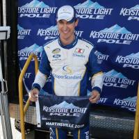 NCWTS: Joey Logano Scores Kroger 250 Pole at Martinsville Speedway