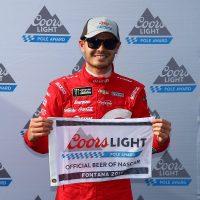 MENCS: Kyle Larson Continues His Hot Streak By Winning Auto Club 400 Pole