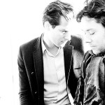 With Mark Ronson. Photo by Guy Eppel.