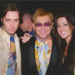 With Elton John and Sarah McLachlan