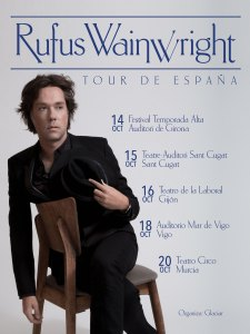 Rufus October 2016 Tour