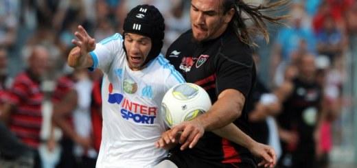 Marseille's French midfielder Mathieu Va