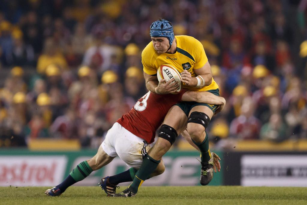 Rugby 2013 - British & Irish Lions v Australian Wallabies - 2nd Test