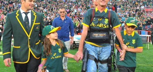 JOHANNESBURG, SOUTH AFRICA - OCTOBER 04: Joost van der Westhuizen during The Castle Rugby Championship match between South Africa and New Zealand at Ellis Park on October 04, 2014 in Johannesburg, South Africa. (Photo by Ashley Vlotman/Gallo Images)